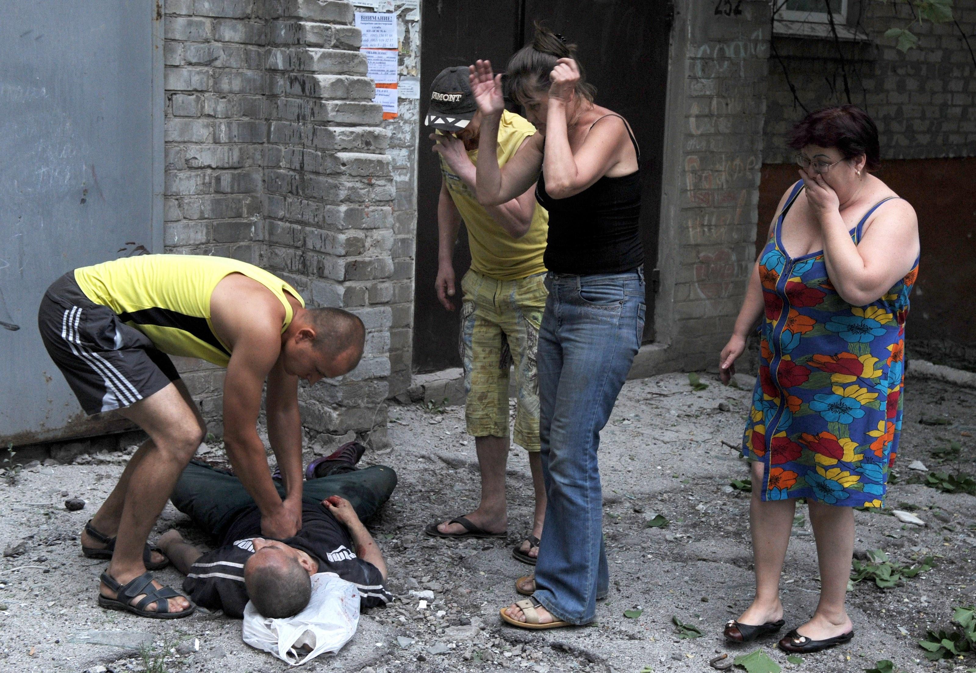 фото трупы донбасс