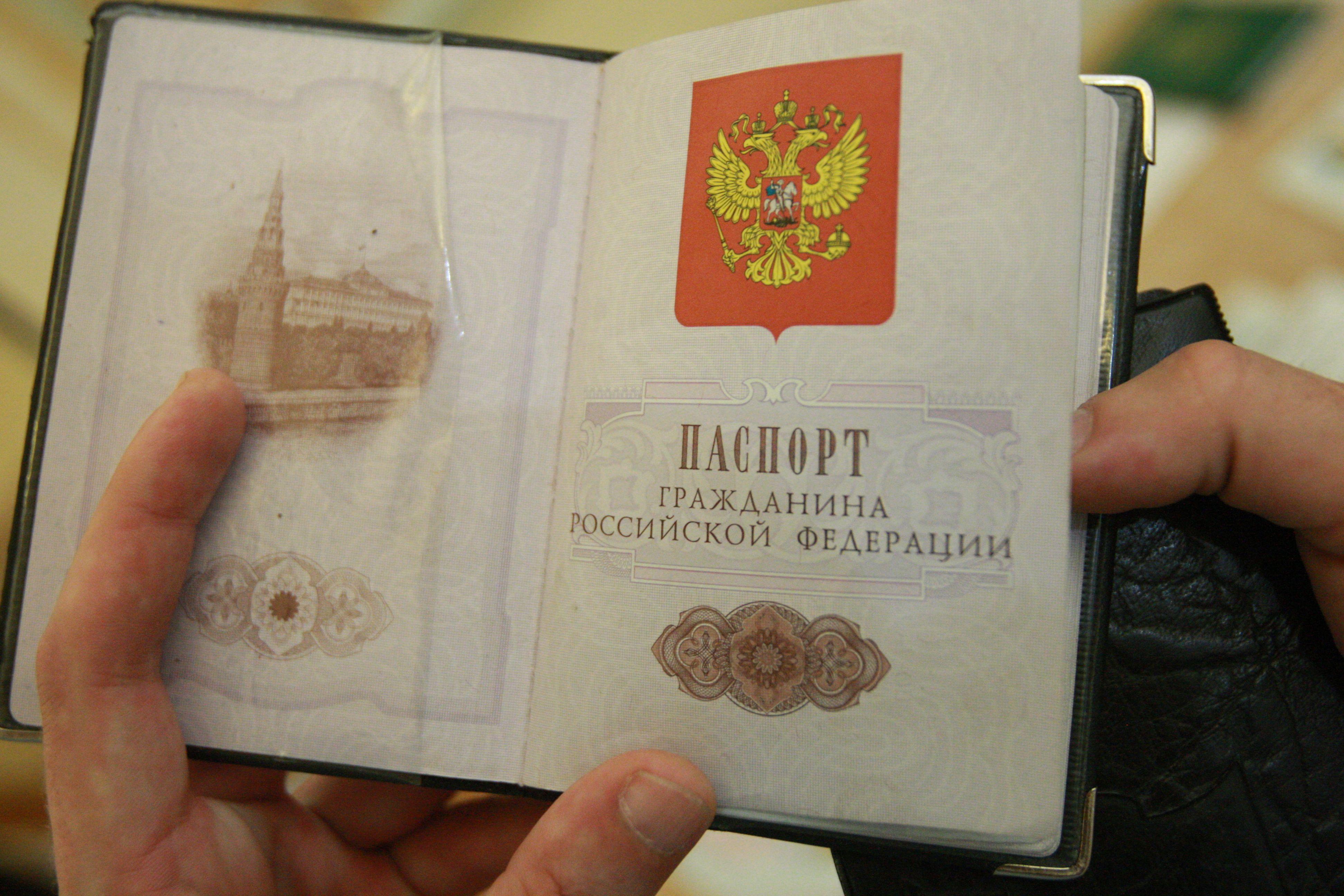 Паспорт гражданина рф картинка