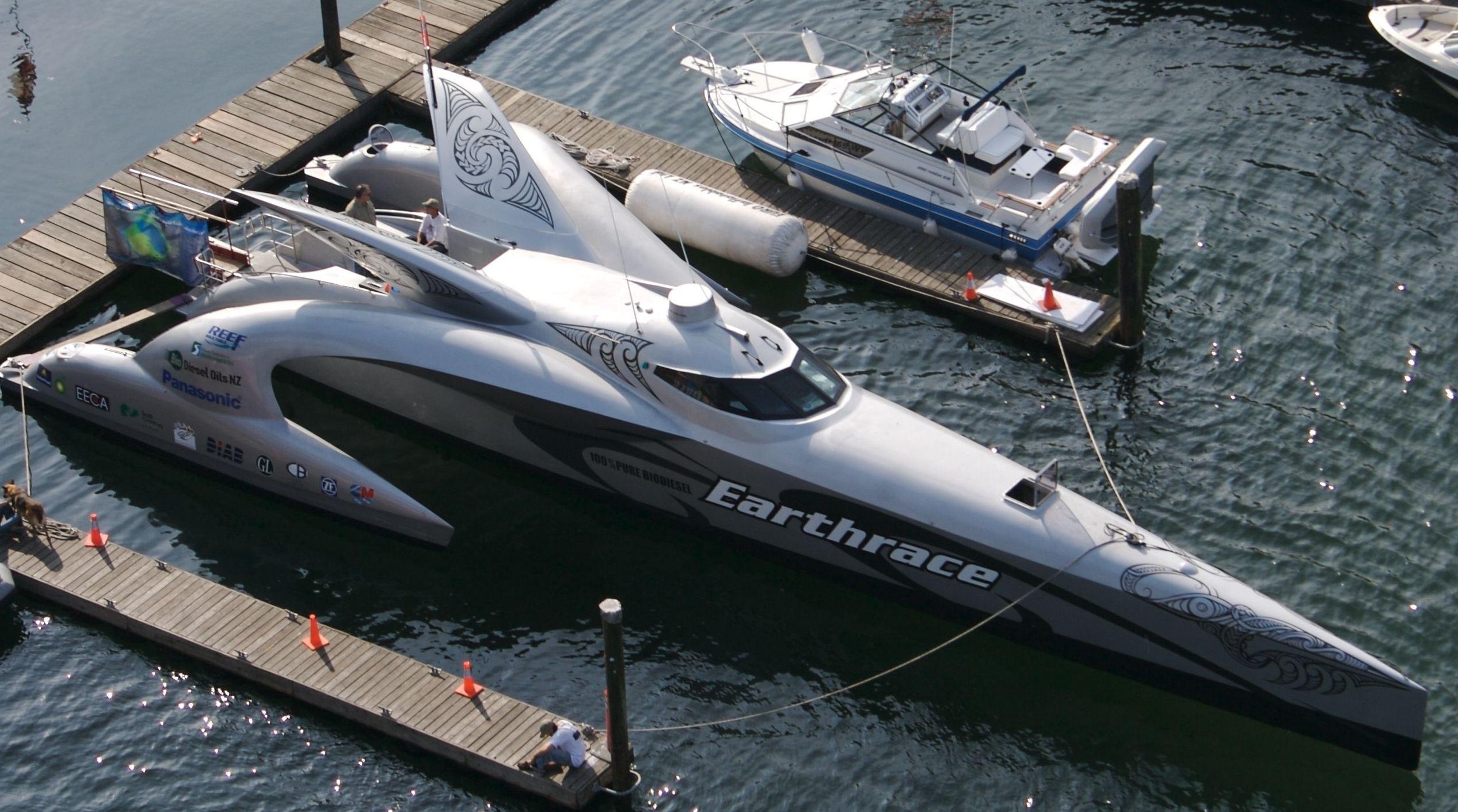 Картинки по запросу корабль будущего «Earthrace»