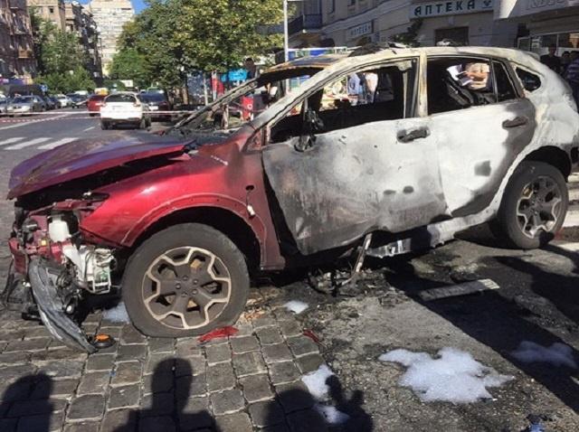 ВКиеве при взрыве авто погиб журналист Павел Шеремет