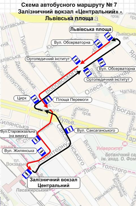Новый маршрут 55 схема
