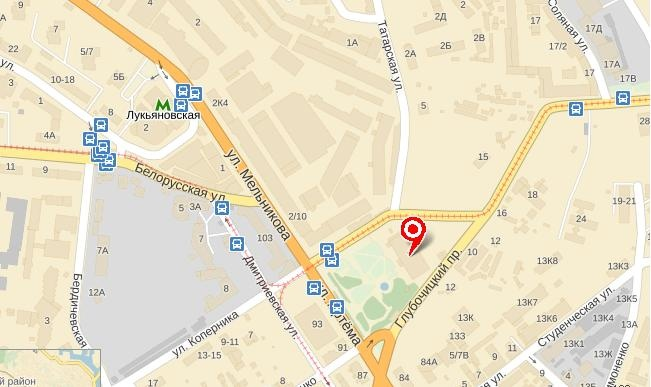 конечная остановка (карта)