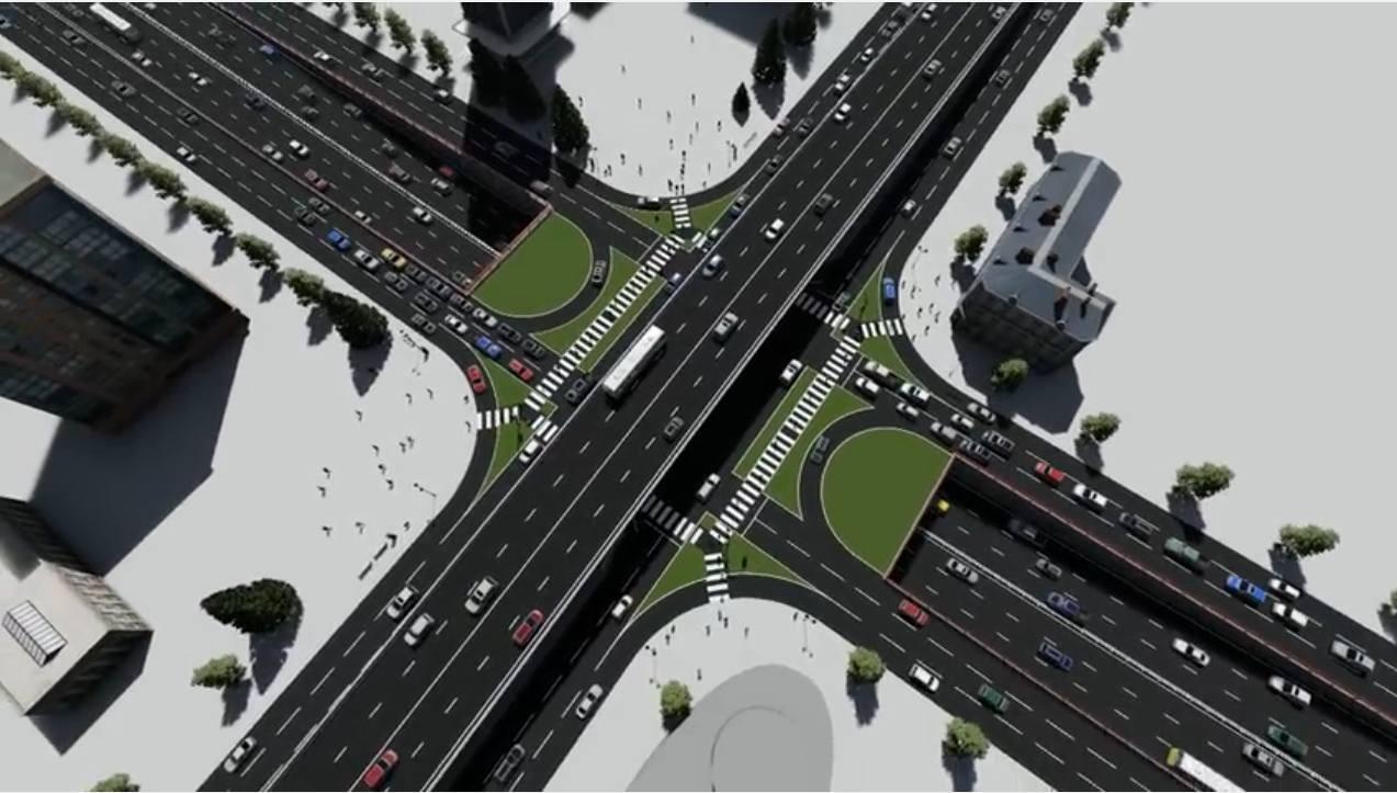 Китайские инженеры представили собственный вариант развязки наШулявке— Взгляд состороны