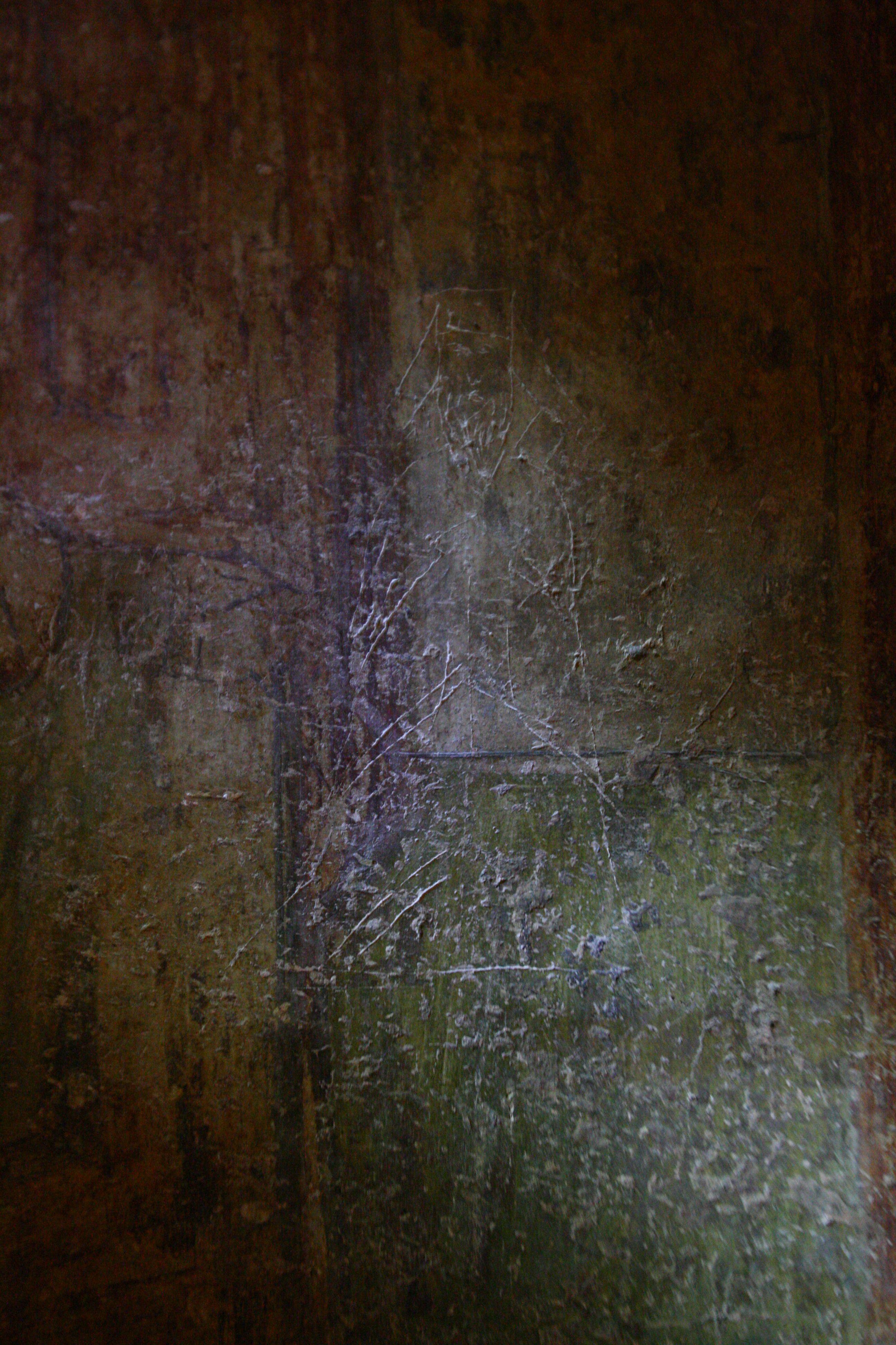 Граффити. Изображение монаха. Фото: А. Бойко