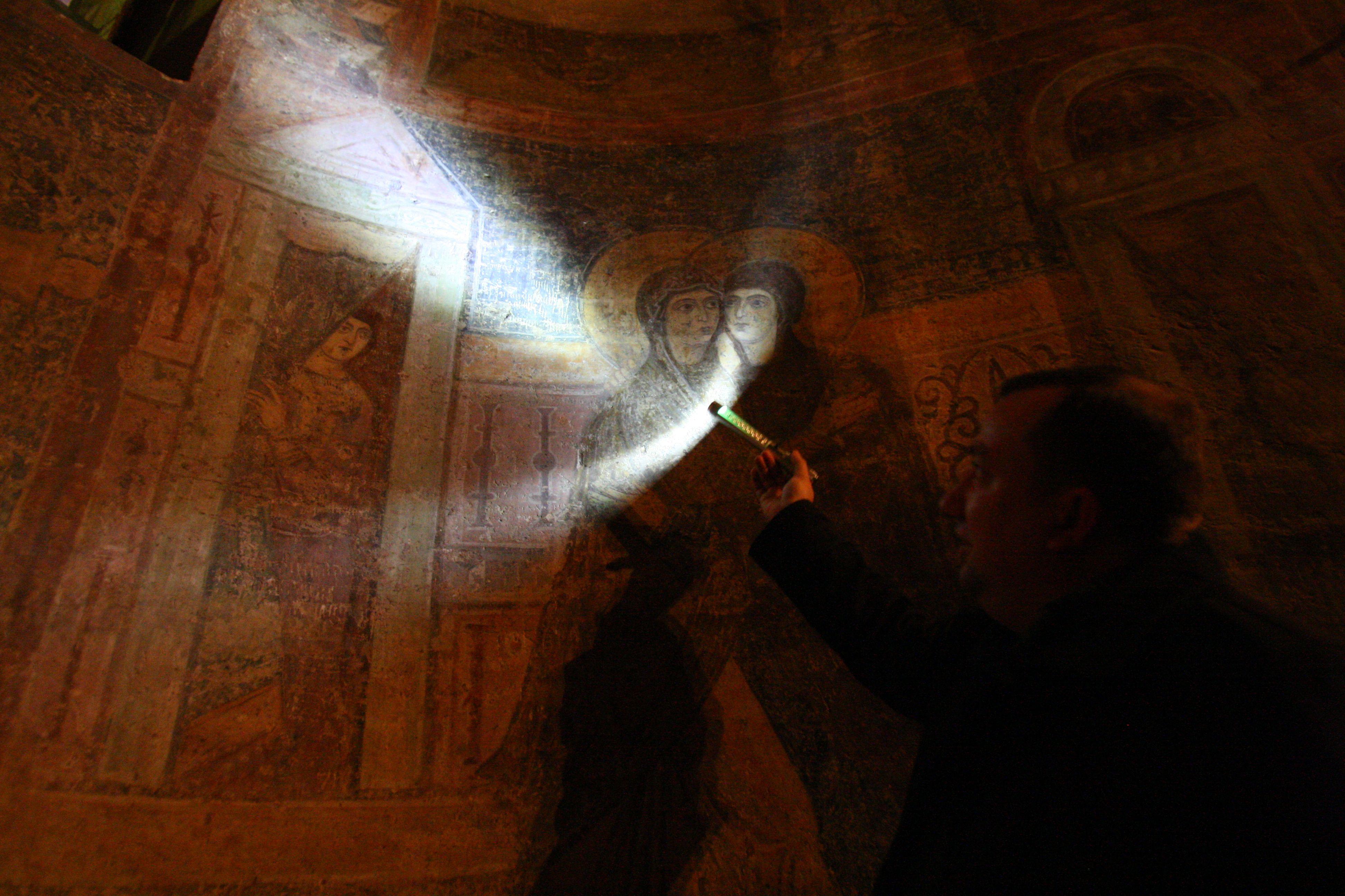 Святыня. В главном храме Киевской Руси уже найдено более семи тысяч посланий древних горожан. Фото: А. Бойко