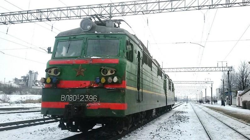 Поезд столкнулся с грузовым автомобилем вКировоградской области