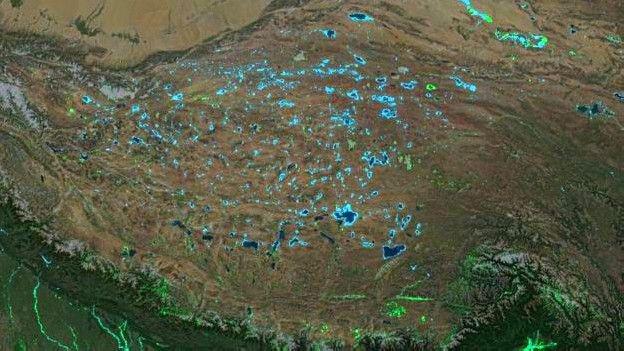 Площадь суши наЗемле стала больше практически на 50 000 кв. км