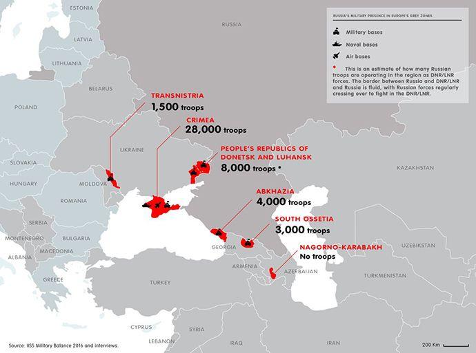 Инфографика: Евродепутат поведал , как РФ  милитаризирует захваченные территории