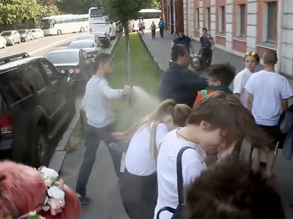 ВПетербурге напали научастников ЛГБТ-акции и репортеров