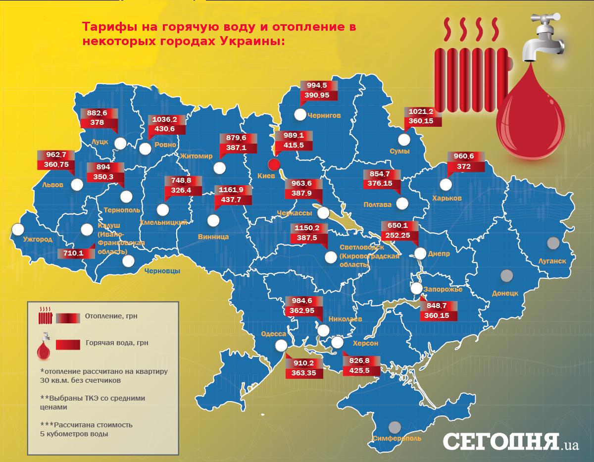 """Для украинцев снизили тарифы на """"коммуналку"""": кому повезло больше и почему"""