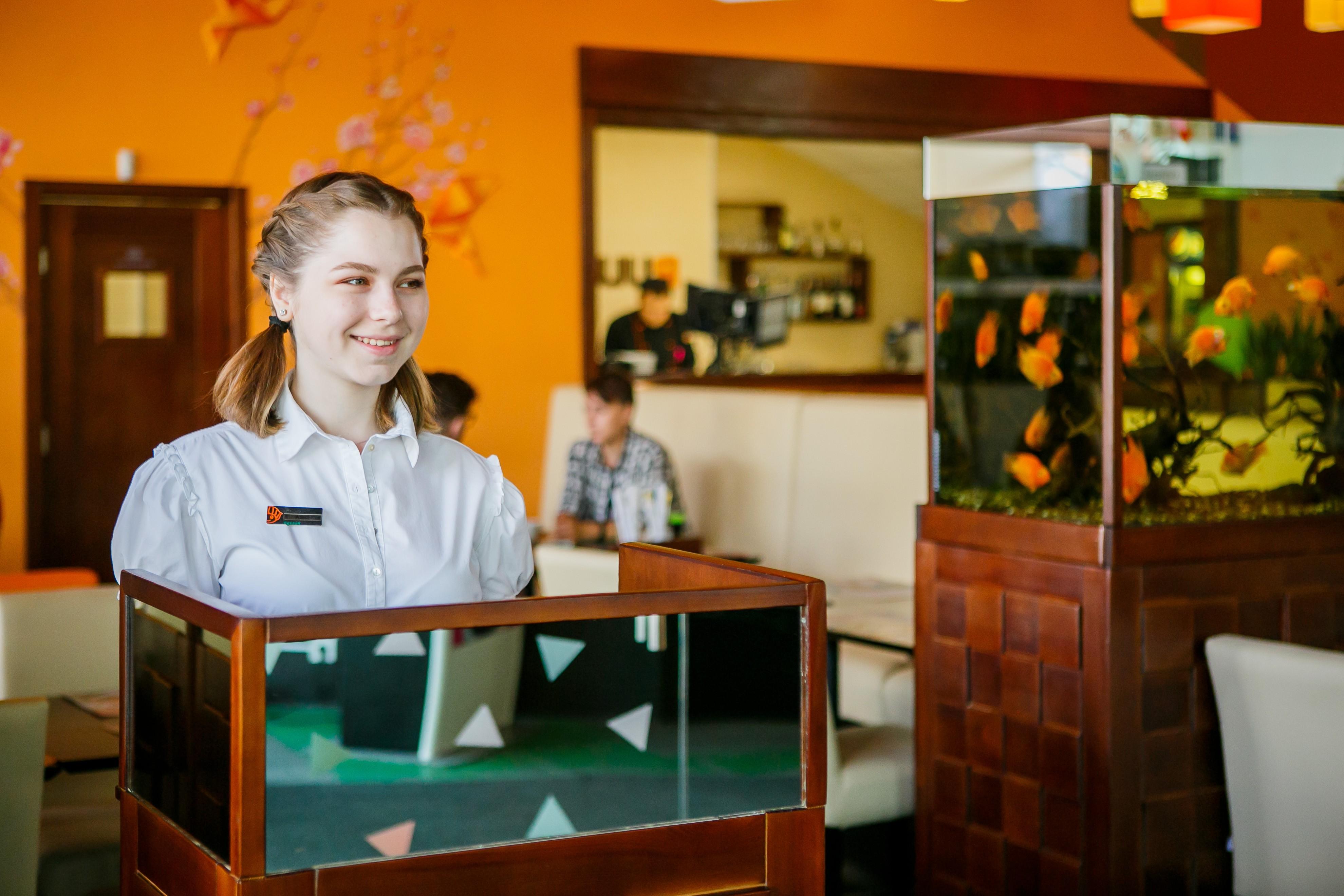 суши бар в рыбацком