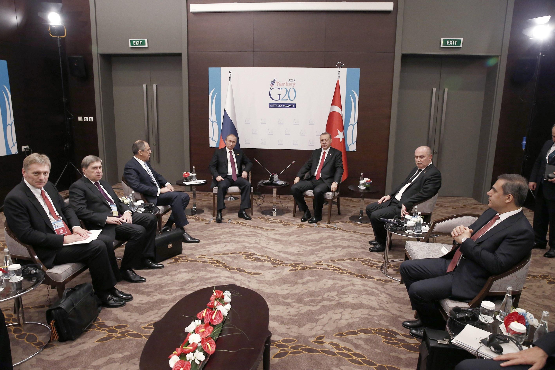 """Встреча лидеров стран """"двадцатки"""". Фото: AFP."""