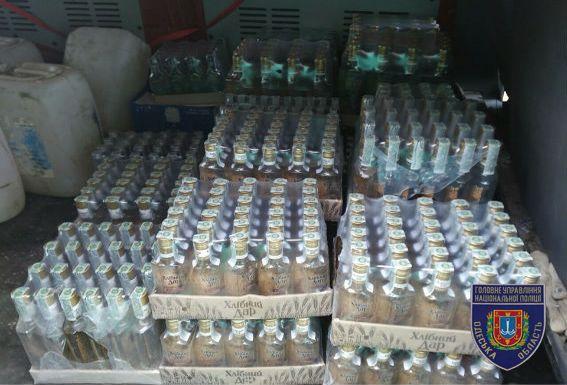 ВОдесской области накрыли очередной цех попроизводству алкоголя