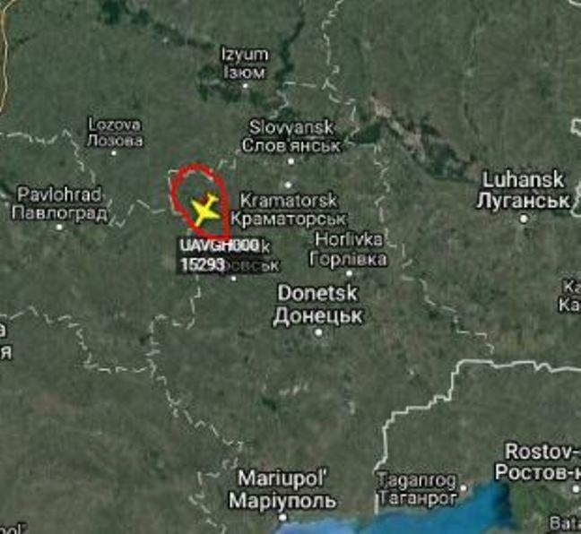 Над Донбассом обнаружили стратегический беспилотник США