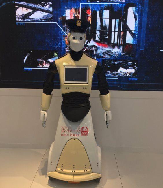 Робот-полицейский поступит наслужбу вДубае в 2017