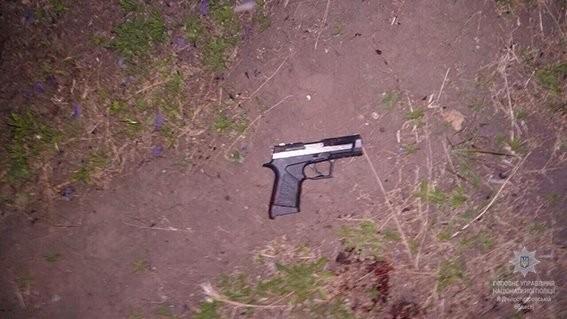 Мошенник застрелил мужчину иранил еще одного— Ограбление вДнепре