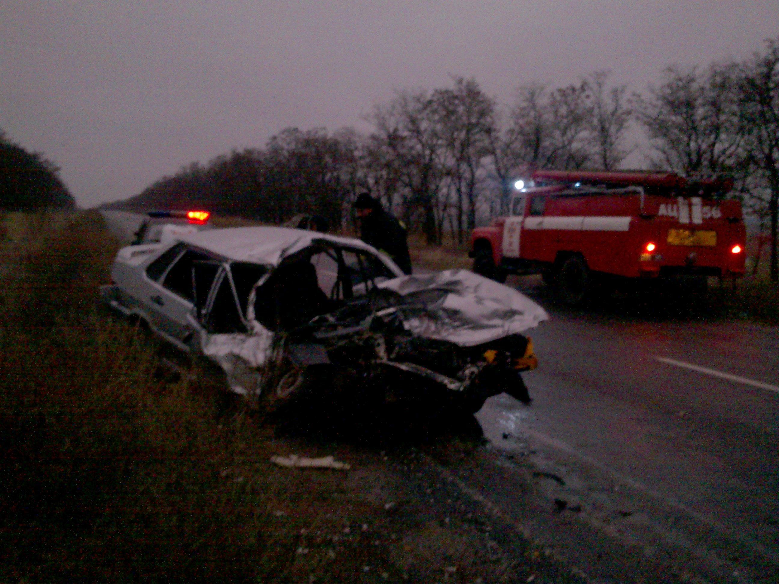 ВДнепропетровской области случилось трагическое ДТП