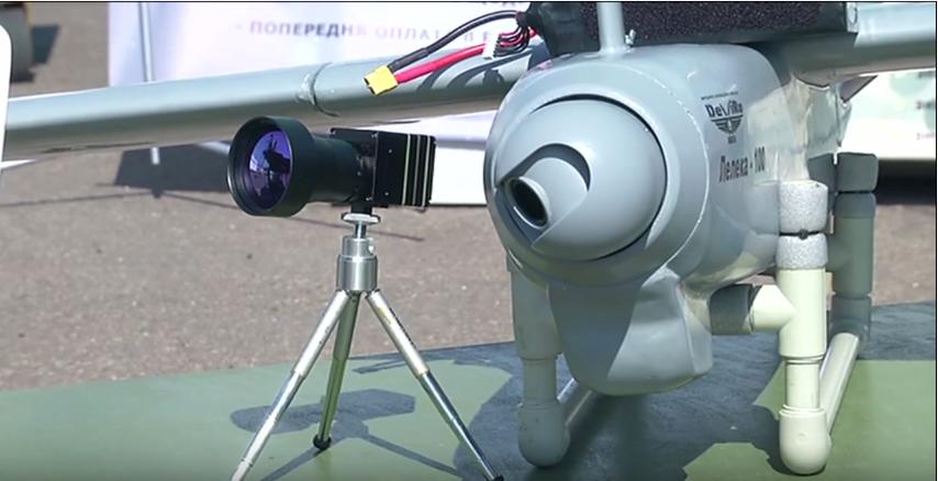 ВСУ испытывают украинский беспилотник «Лелека-100»