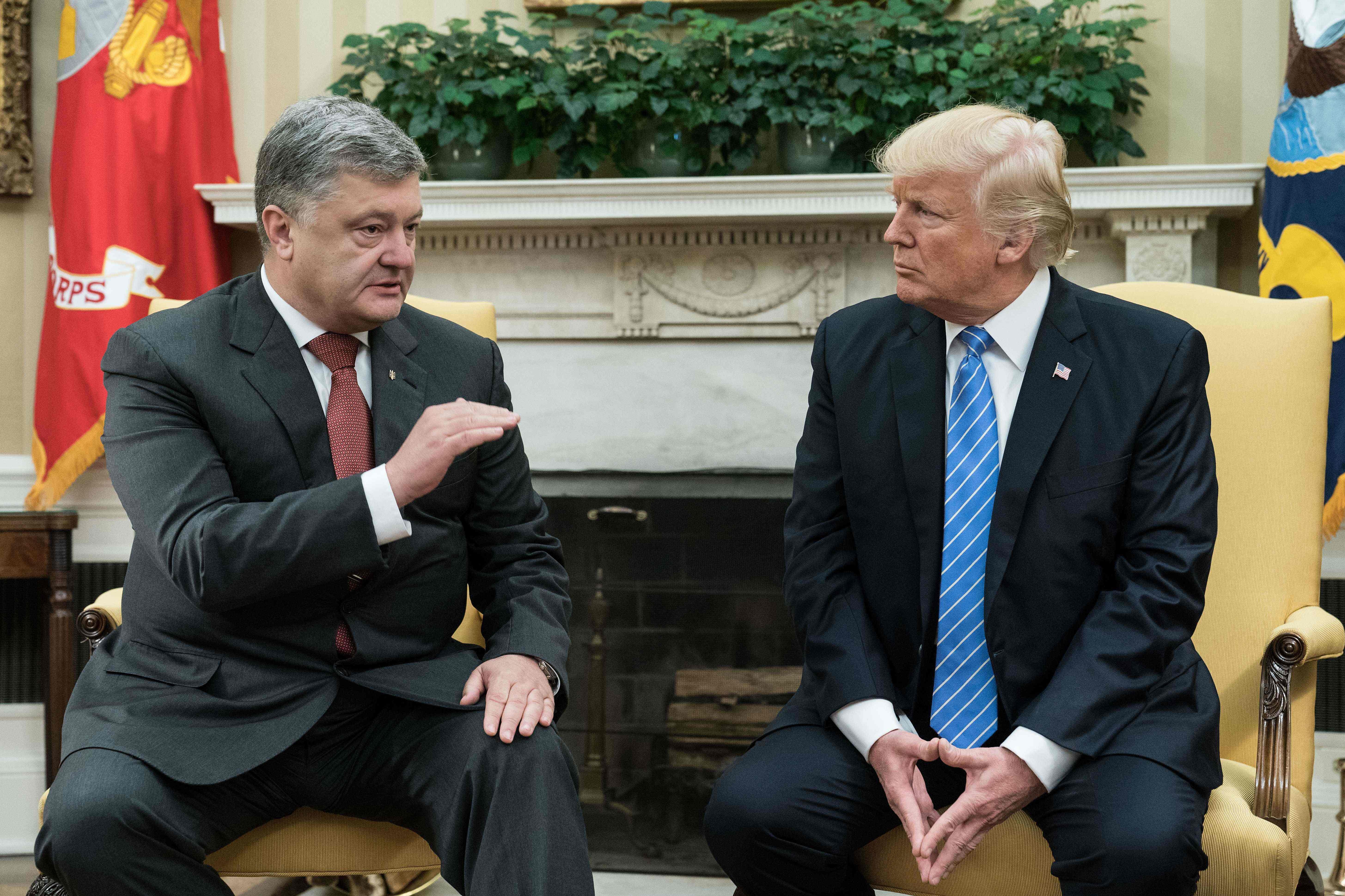 Трамп навстрече сПорошенко объявил о«вовлеченности» вдела Украинского государства