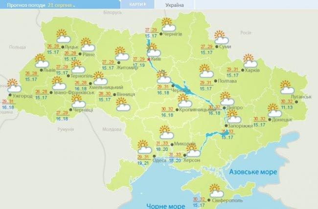 Солнце наступает: прогноз погоды в Украине на неделю, фото-4