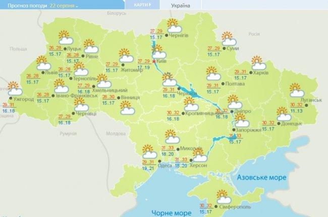 Солнце наступает: прогноз погоды в Украине на неделю, фото-5