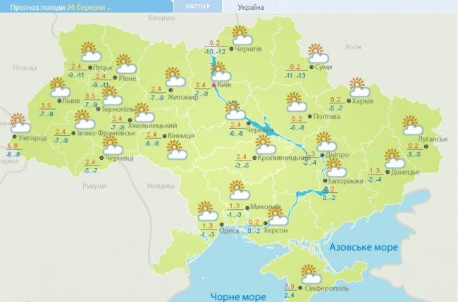 Прогноз погоды в Украине на неделю: как сильно потеплеет, и где ждать дождей, фото-1
