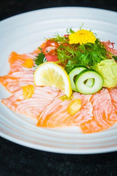 carpaccio-salmon-in-white-plate_1203-7386