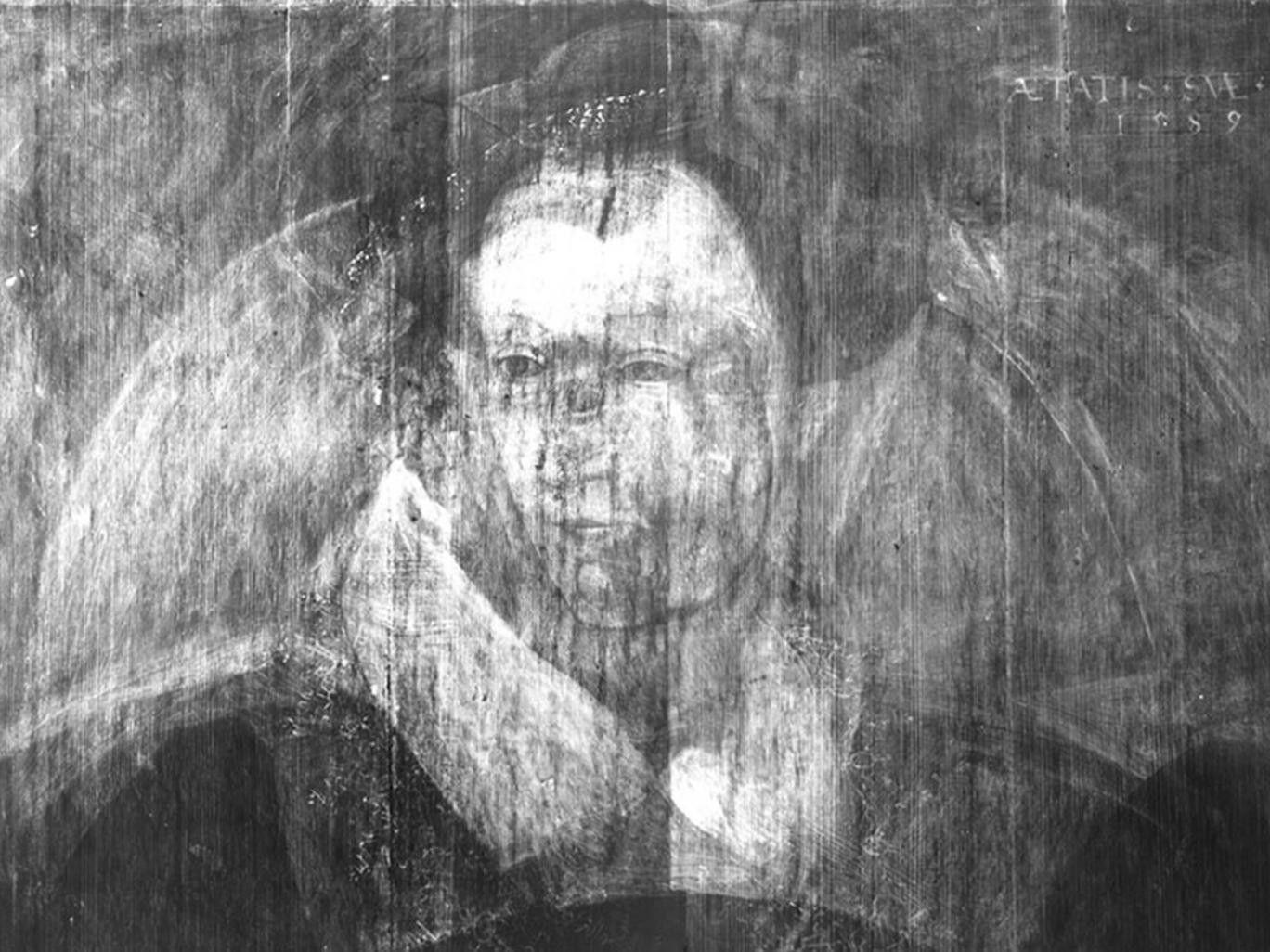 Неизвестный портрет Марии Стюарт увидели через рентген