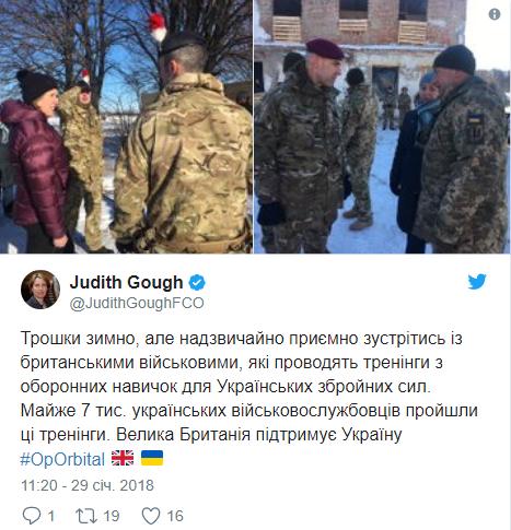 Английские инструкторы подготовили 7 тысяч украинских военных, фото-1
