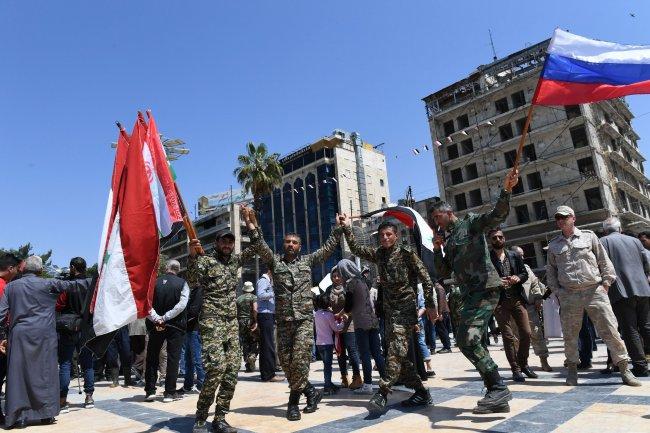 Башар Асад пришел утром наработу после ударов поСирии