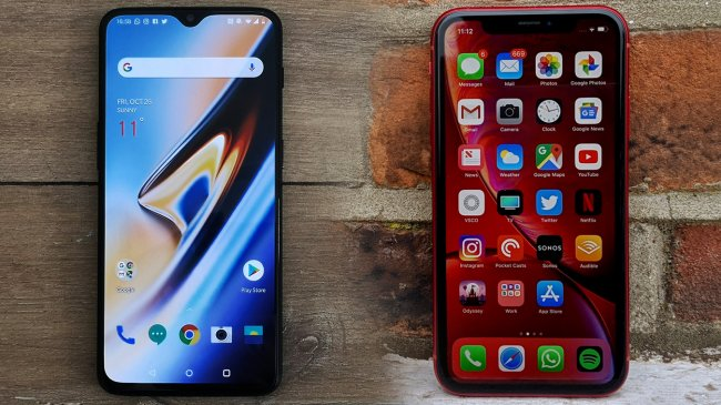oneplus-6t-iphone-xr