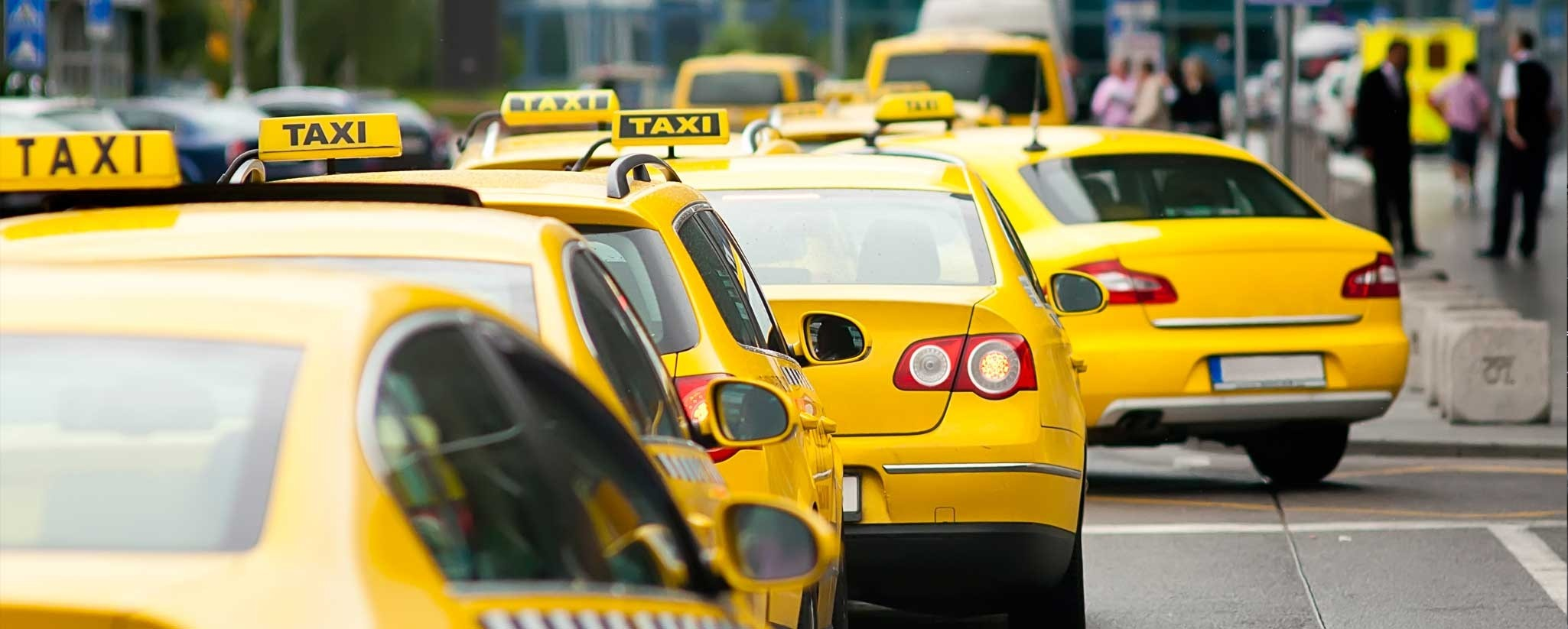 средний пробег такси в городе