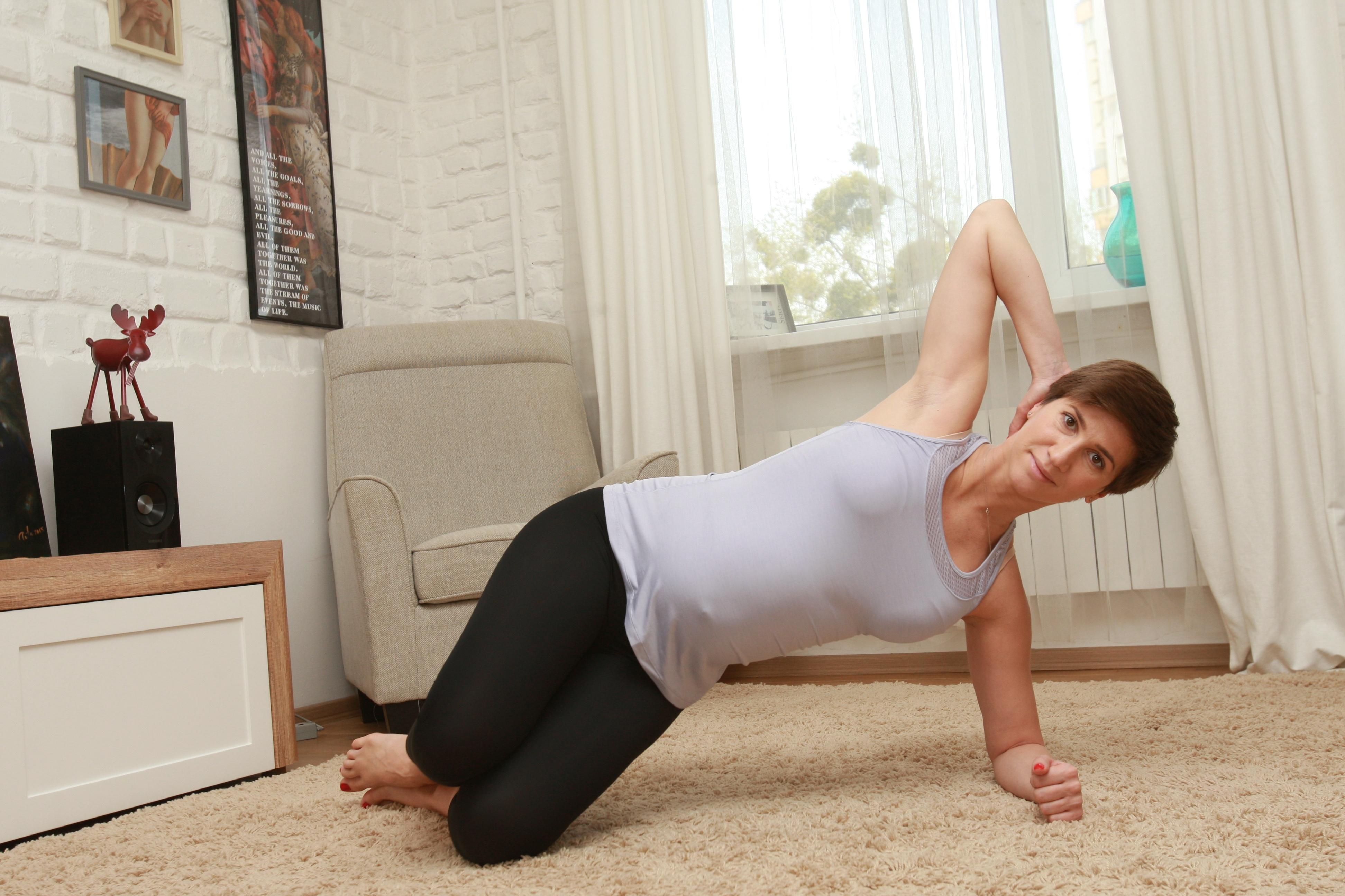 Фитнес дома с анитой луценко все занятия