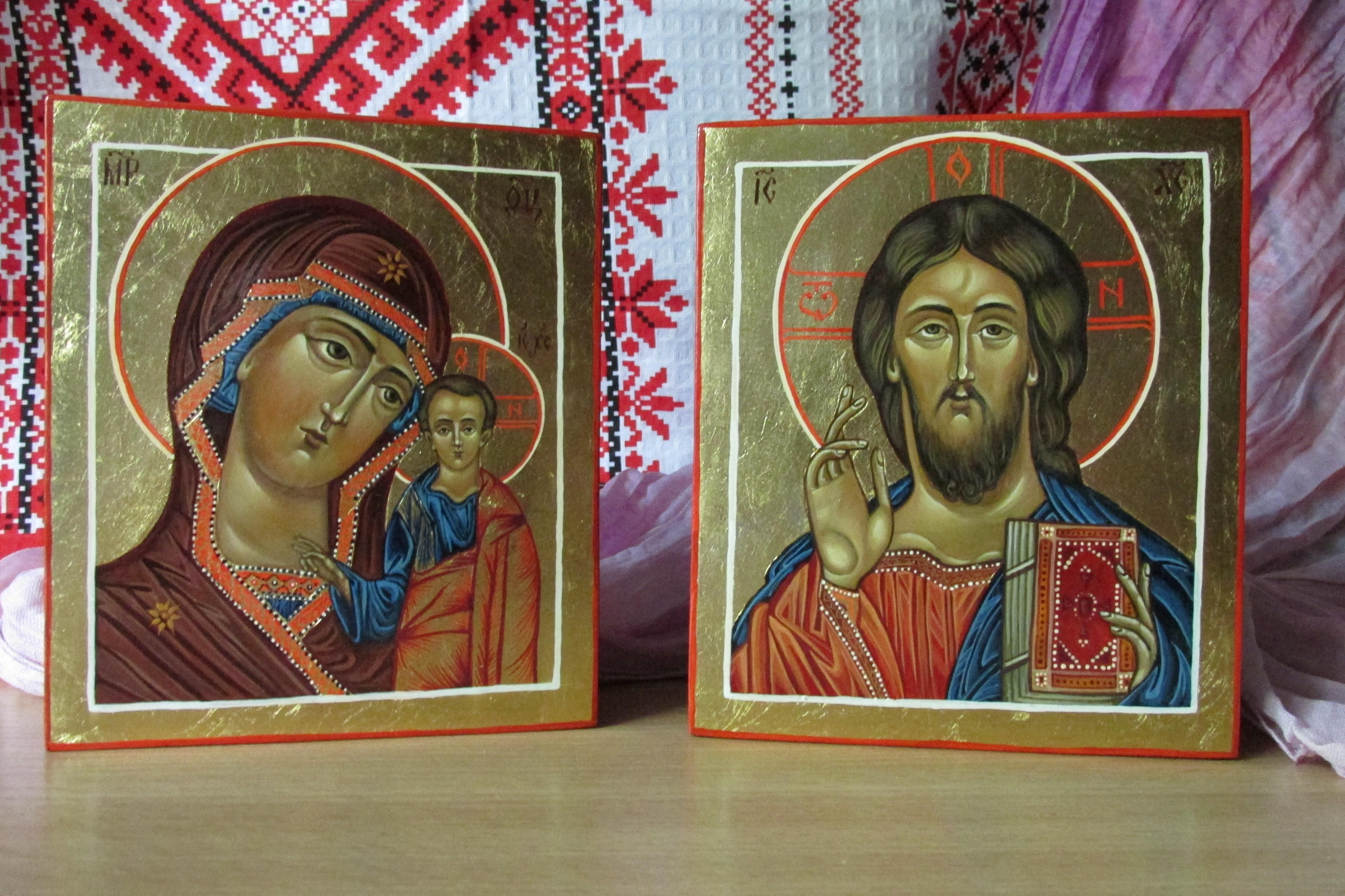 Какую икону дарят на свадьбу и как правильно благословить молодых