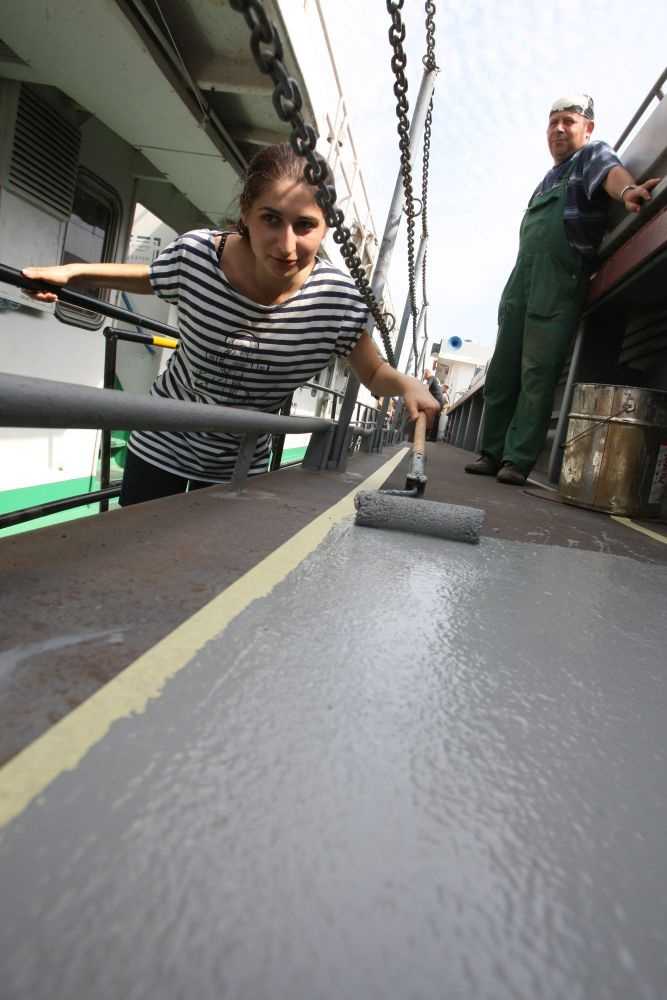 """new_image2_178 """"Ведро воды для новичка"""", или чем живут измаильские моряки (фото)"""