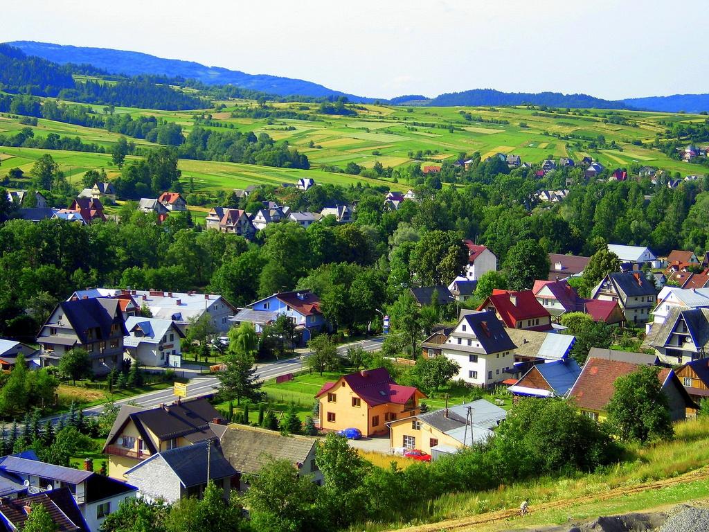 Села в Польше
