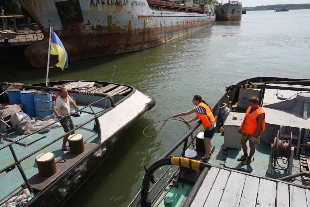 """new_image_168 """"Ведро воды для новичка"""", или чем живут измаильские моряки (фото)"""