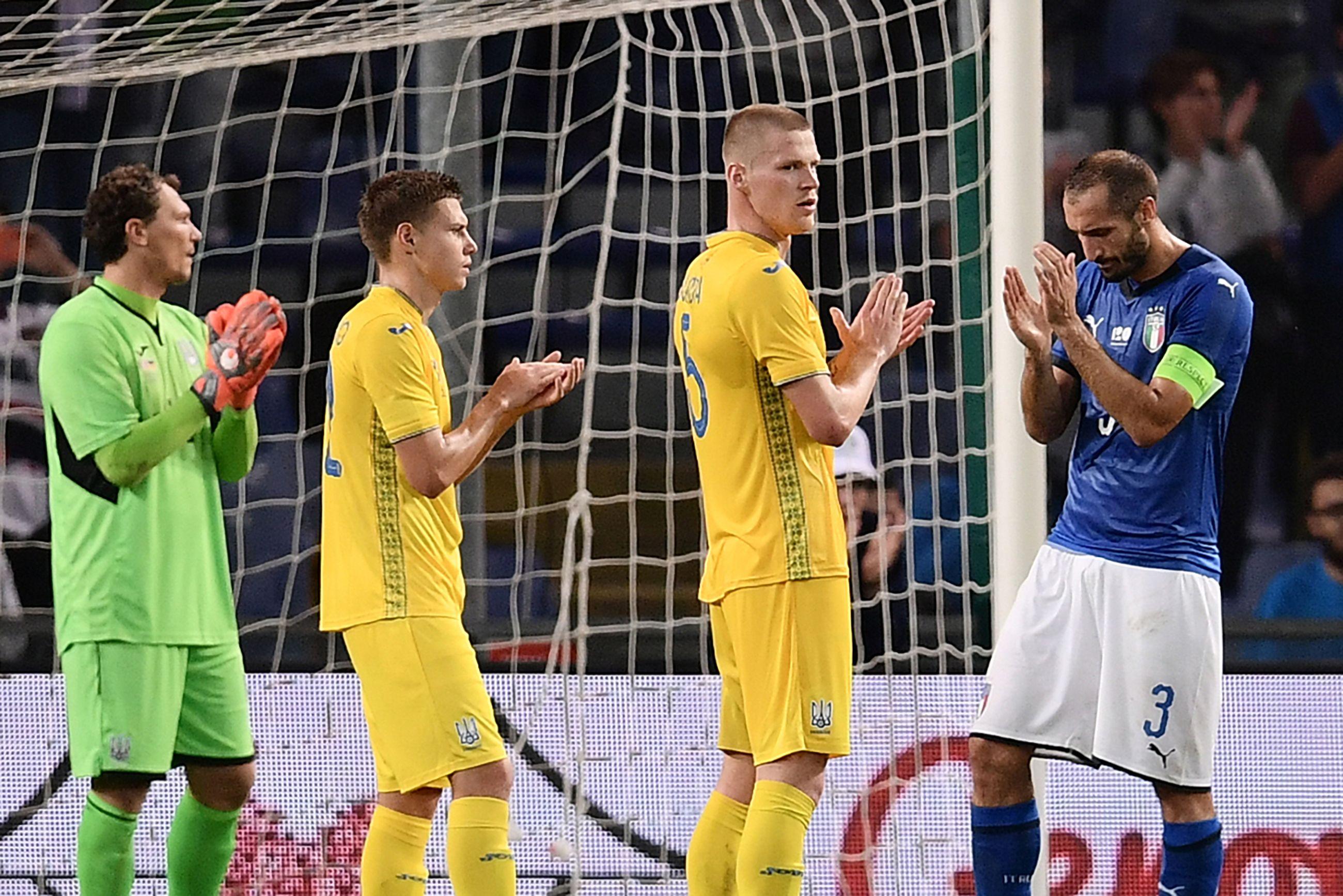 Украина (U-16) проиграла Италии во втором товарищеском матче