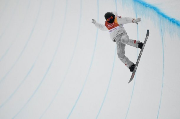 Олимпийским чемпионом вдисциплине хафпайп стал американский сноубордист