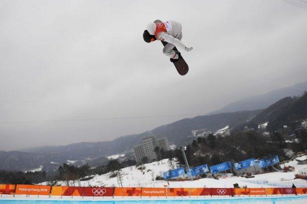 Сноубордист Шон Уайт завоевал золото вхафпайпе