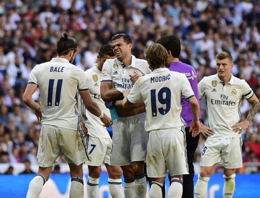 Звезда «Реала» Пепе сломал два ребра вовремя матча
