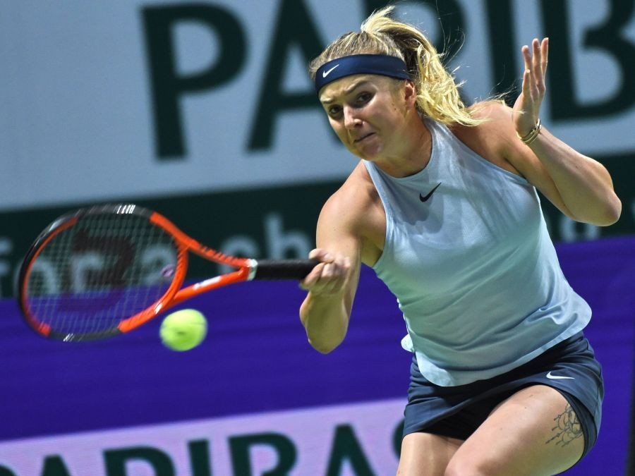 Гарсия обыграла Свитолину, Возняцки разобралась сХалеп. Итоговый турнир WTA
