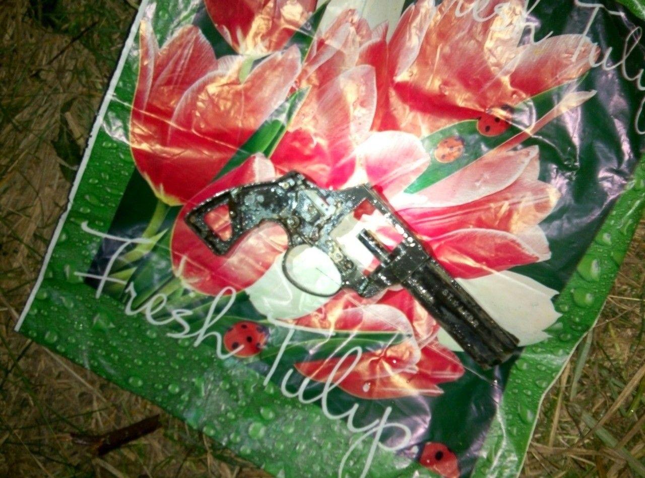 Найден револьвер, изкоторого приблизительно полицейский убил жителя Кривого Озера