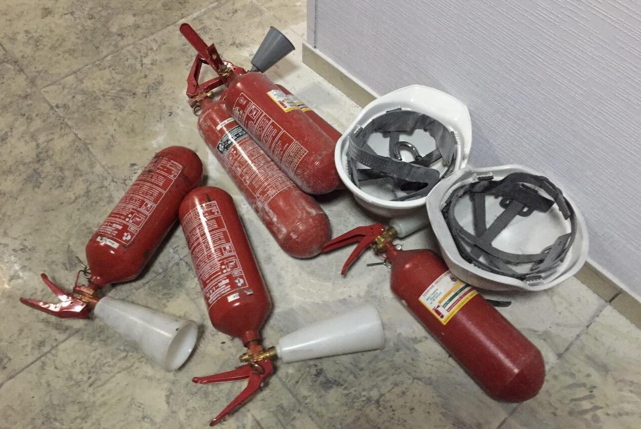 Пожар в помещении канала «Интер»: есть пострадавшие