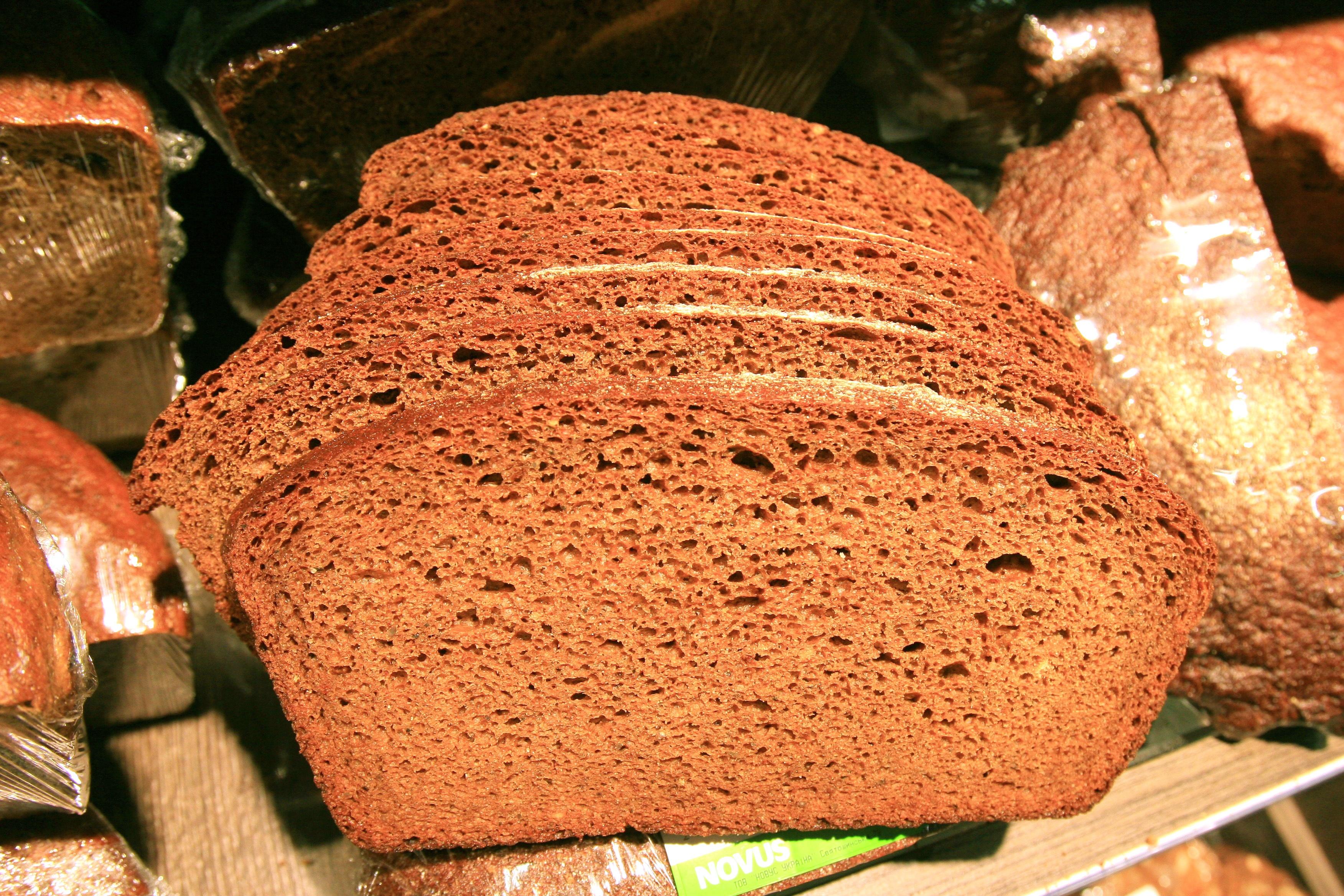 украинский хлеб с зеленью