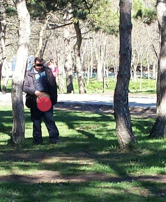 Онанисты в парках
