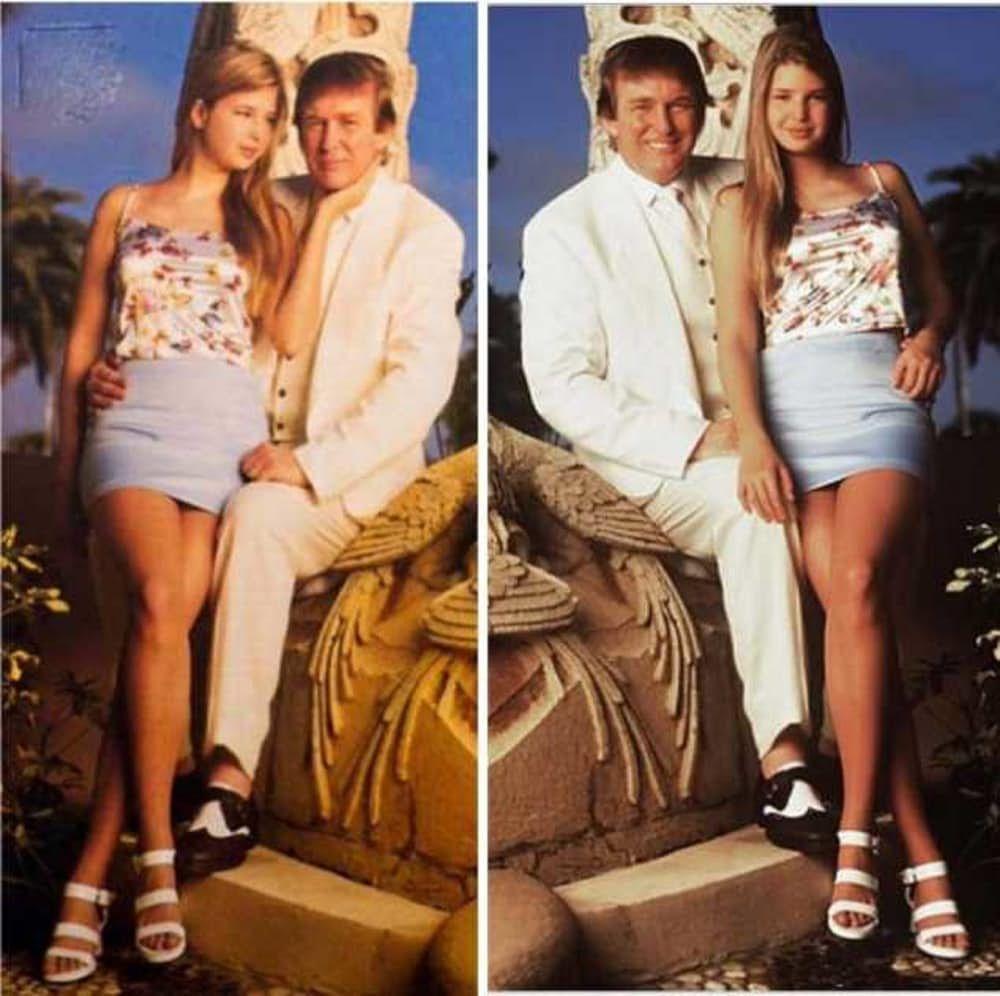 Дональд трамп на пляже фото