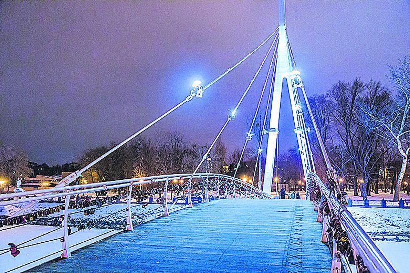 Интересная прогулка мосты Харькова Новости Харькова У  3 2 01