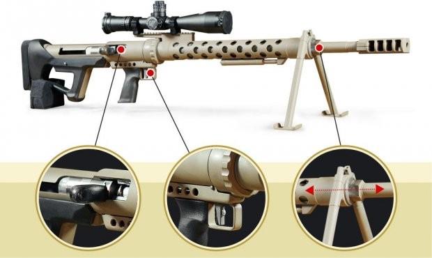 Харьковские оружейники презентовали новейшую винтовку— Сделано вУкраинском государстве