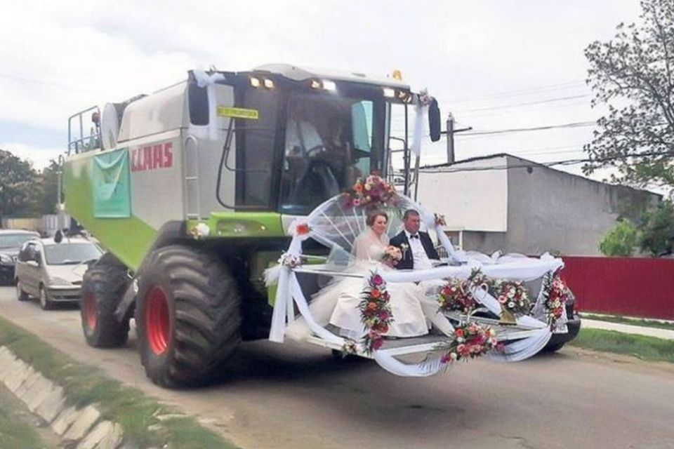 Craziest Wedding Cars In The World Photos International